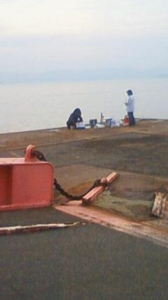 豊島桟橋でメバル釣り